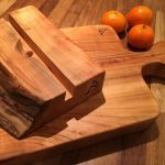 Cherry iPad stand and chopping board. #blaiseintrees #waneyedge #liveedge #rustic #handmade