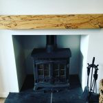 Spalted beech mantel pice I made. #blaiseintrees #spalted #beech #homedecor #household #bespoke