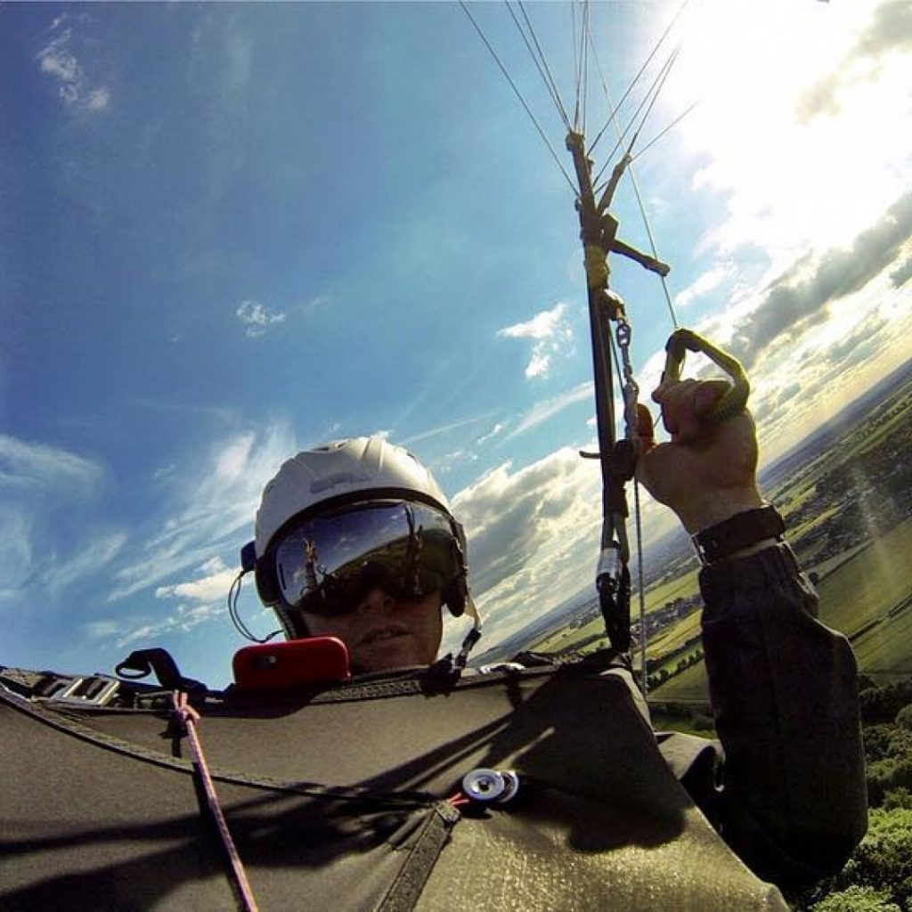 Flight after work makes me feel #stoked #gopro