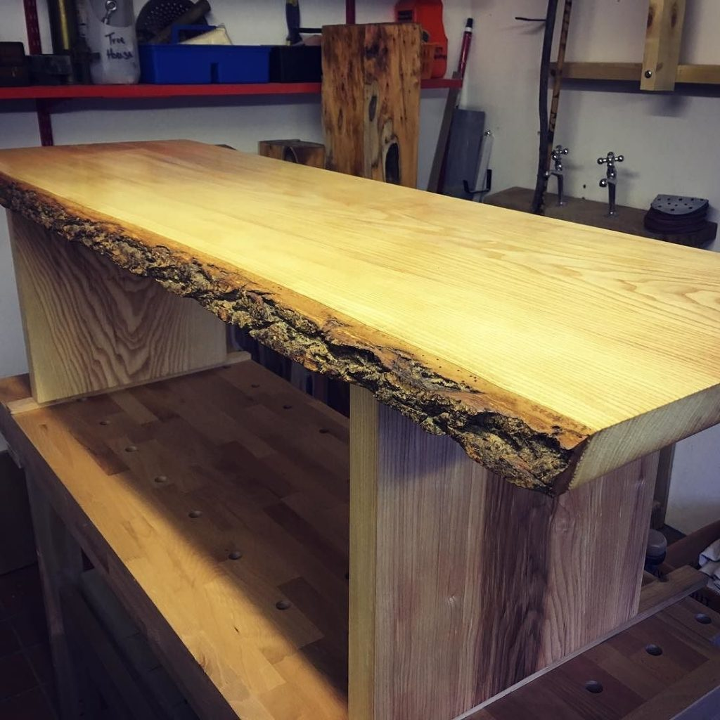 Finished up an Ash bench super please with how it turned out.