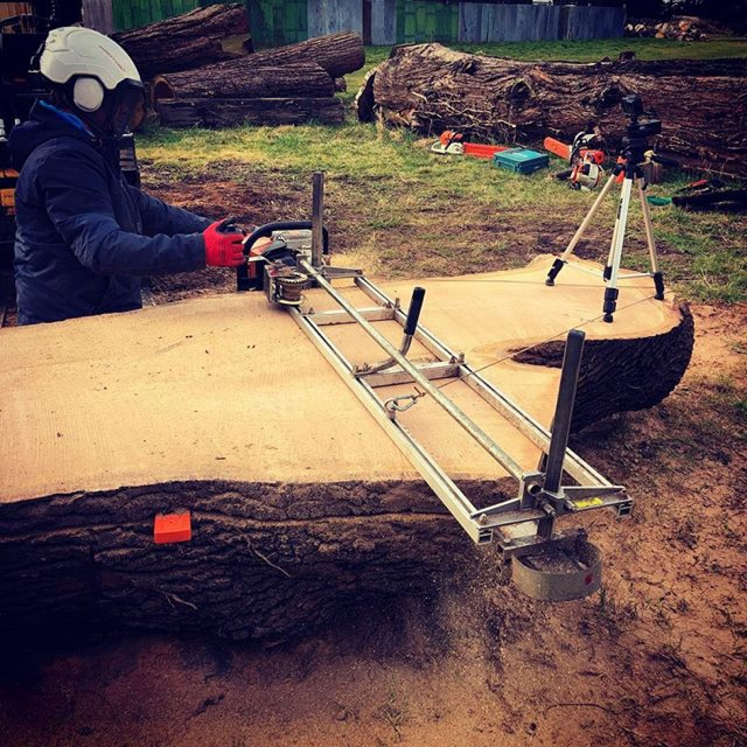 Oakey kokie #alaskanmill #chainsawmill #chainsaw #manglitter