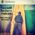 I feel honoured to be on the podcast thanks Steve @sawmillbusiness and @granberginternational for the support. Much love Blaise #alaskanmill #sawmillbusiness #slablife