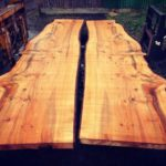 Best book matched Cedar money can buy is now dry and available to buy. Send me a message if your interested. #granberginternational #sawmillbusiness #interiordesign #liveedgetable #uktimber